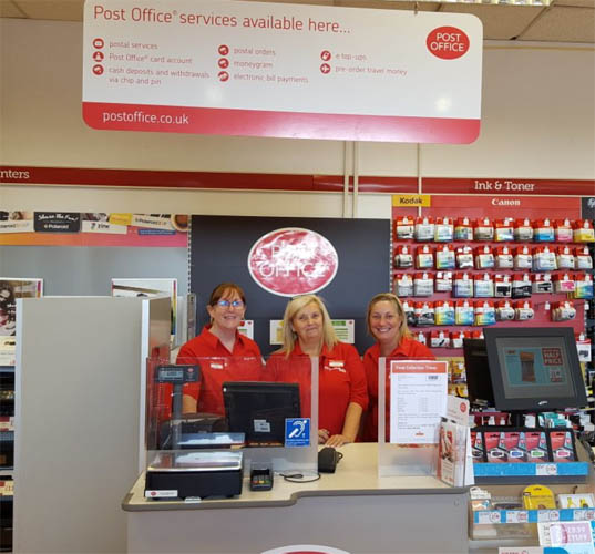 New Post Office Opens in Ryman