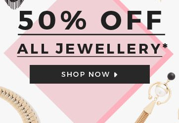 WOW! 50% Off All Jewellery at Roman