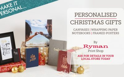 Fab Personalised Xmas Gifts from Ryman