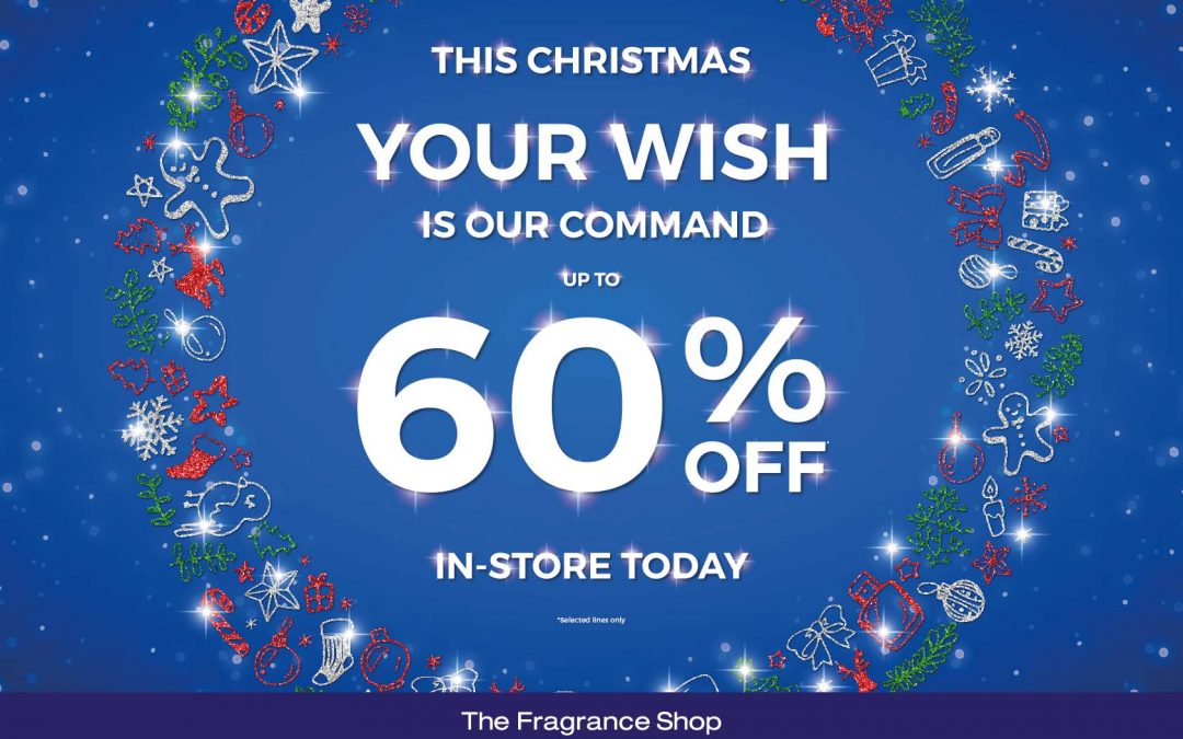 Save up to 60% at the Fragrance Shop