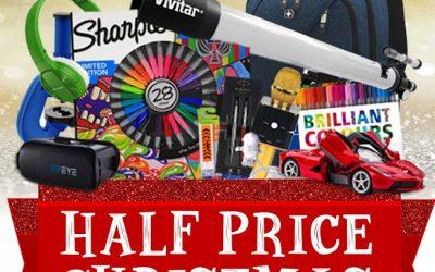 Ryman Half Price Xmas Sale Now On