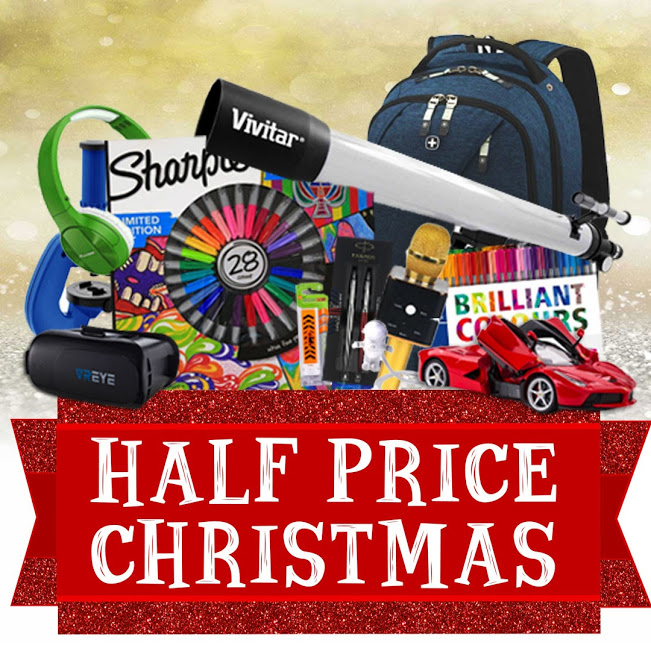 Ryman Half Price Xmas Sale Now On