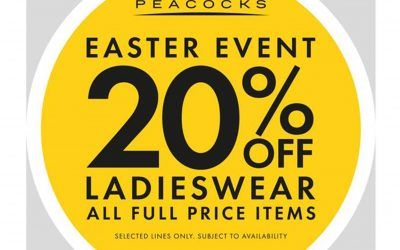 Peacocks – Up to 20% Off Ladieswear
