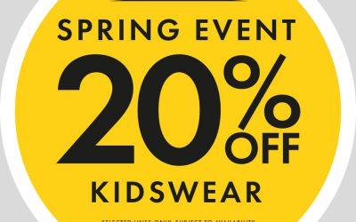 Peacocks – 20% OFF Full Price Kidswear