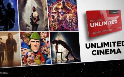 Cineworld Leigh – Unlimited Offer Event