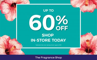 Up to 60% Off at The Fragrance Shop
