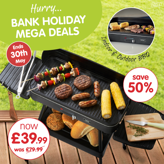 Bank Holiday BBQ Deals at B&M Bargains