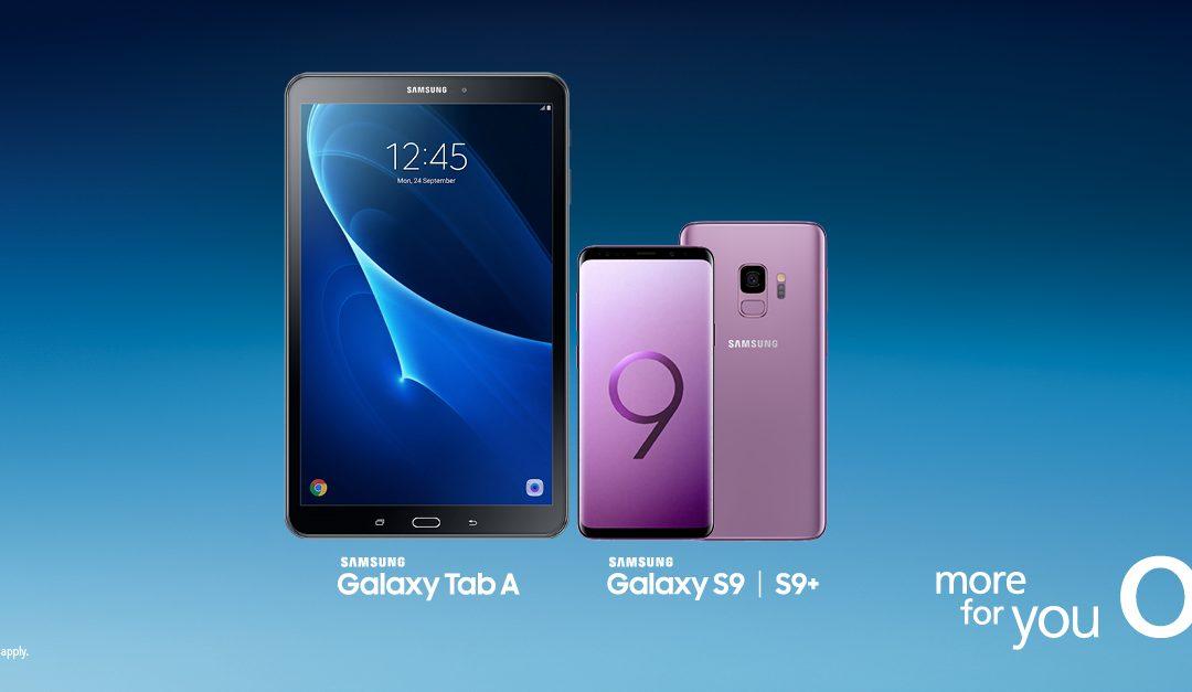 FREE Samsung Galaxy Tab at O2