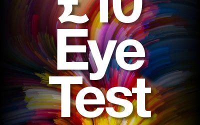 £10 Eye Test at Vision Express
