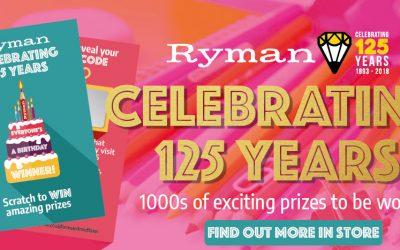 Happy Birthday Ryman Stationery