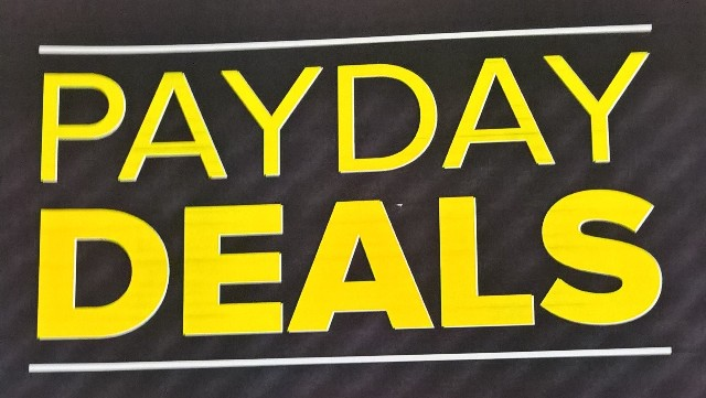 Payday Deals at Select