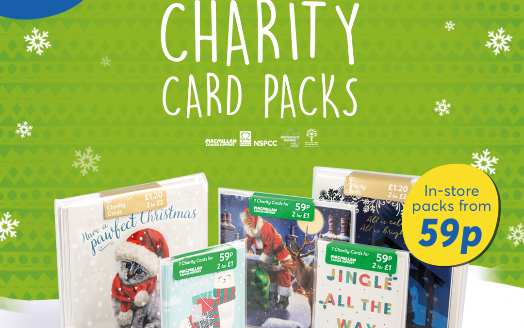 Christmas Charity Card Packs at Card Factory