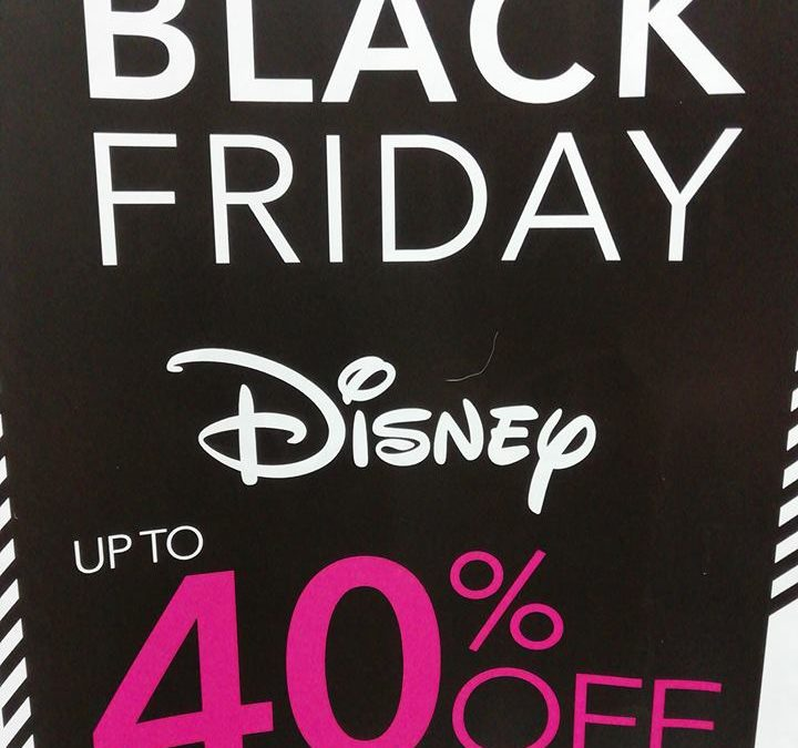 Black Friday Offers at CardZone / Thorntons
