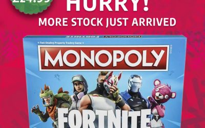 Fortnite Monopoly at Ryman Stationery