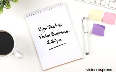 Eye Test Reminder