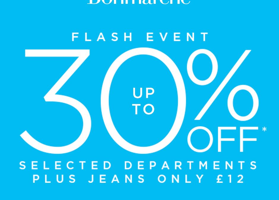 Bonmarché Flash Event