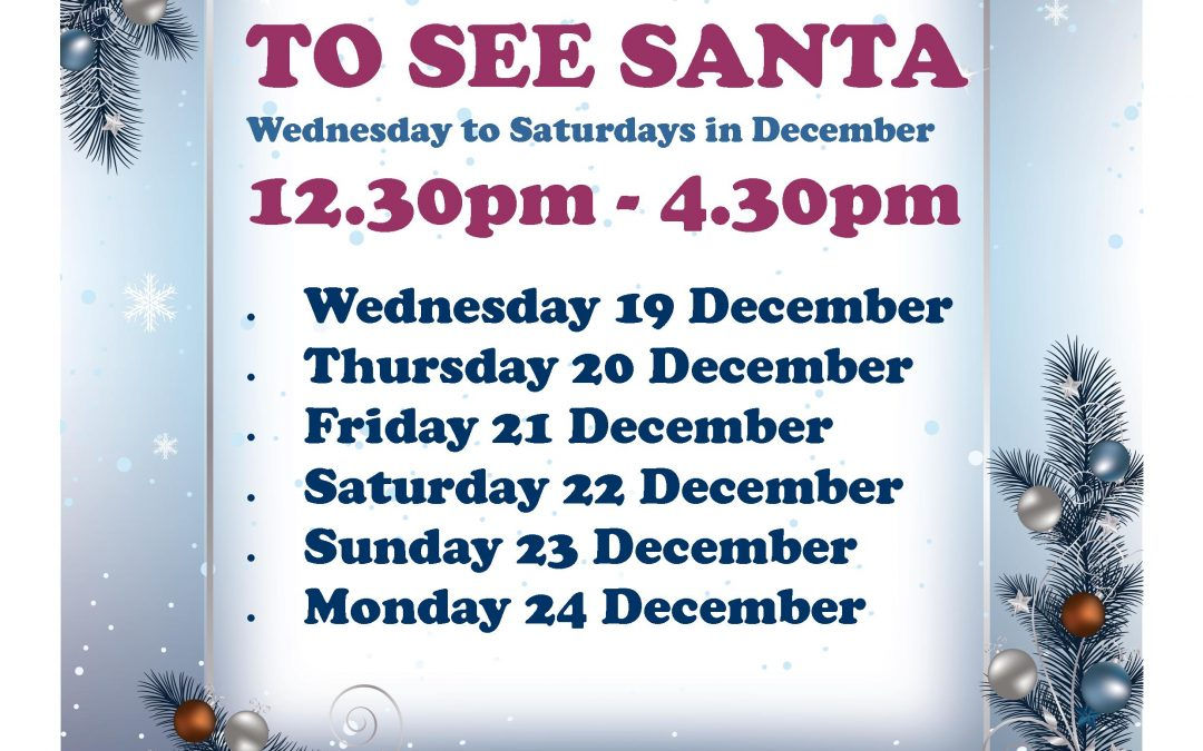 Free Santa Visits – Christmas Week