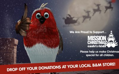 B&M Stores Mission Christmas Toy Appeal