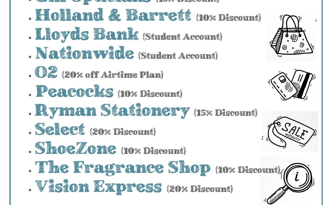 Student Discounts at Spinning Gate Shopping Centre