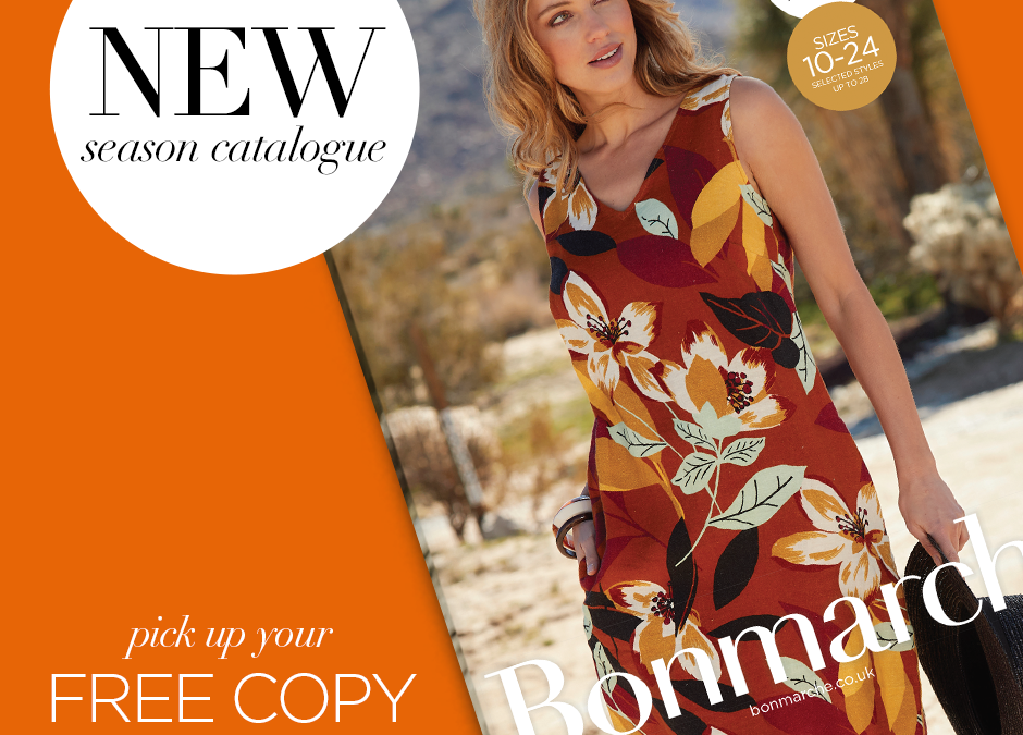 The Bonmarché Summer Catalogue now in store