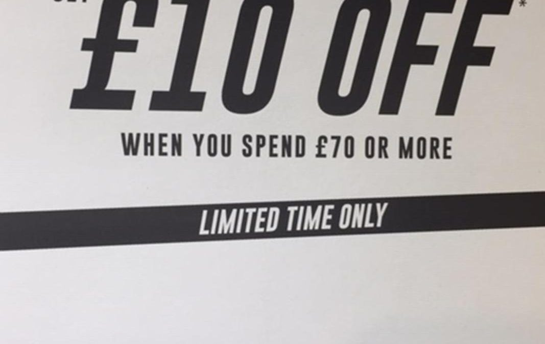 £10 off at The Fragrance Shop