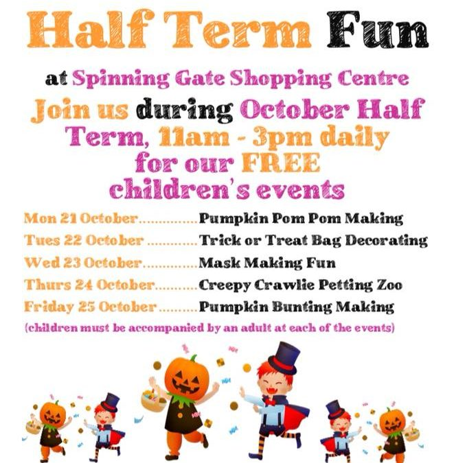 October Half Term Family Fun – Free children's Events