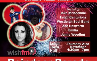 Leigh Town Centre – Christmas Show – Thursday 21 November