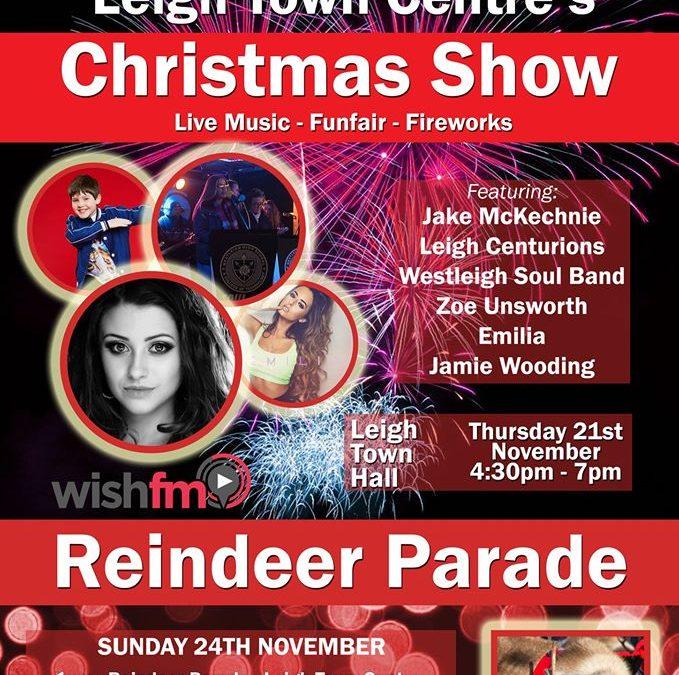 Leigh Town Centre – Reindeer Parade – Sunday 24 November