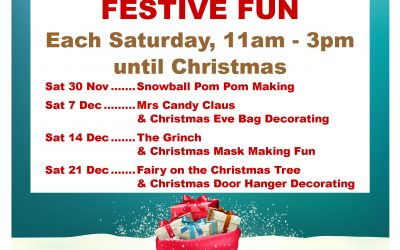 Free Family Festive Fun at Spinning Gate