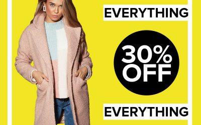 30% off at Select Fashion