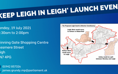Keep Leigh In Leigh Launch Campaign