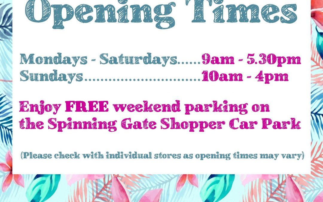 Centre Opening Hours