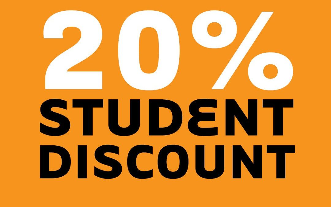 20% Student Discount at Select Fashion