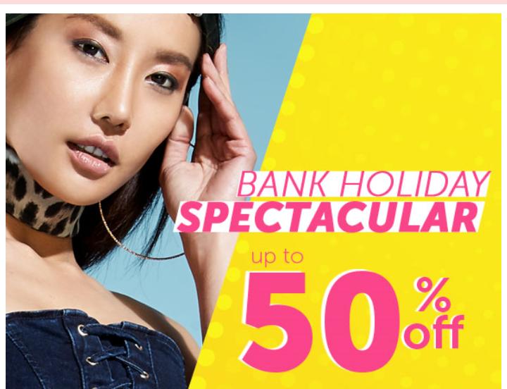 Bank Holiday Spectacular at Select Fashion