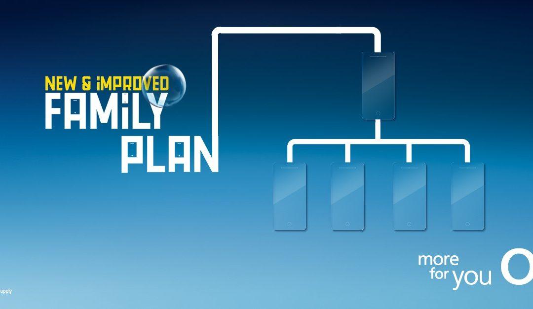Family Plan at O2