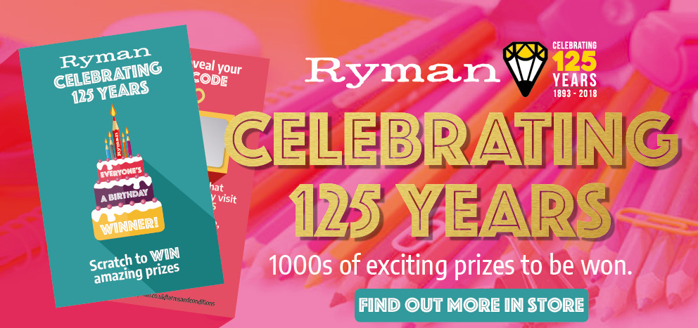 Happy Birthday Ryman Stationery