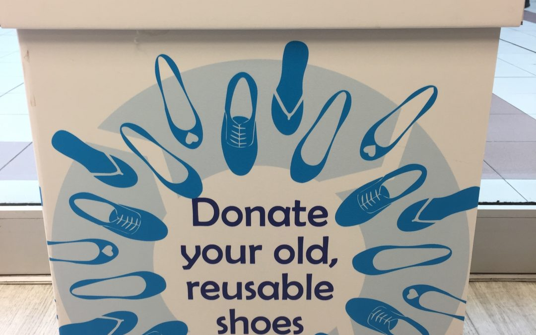 Shoe Recycling at ShoeZone