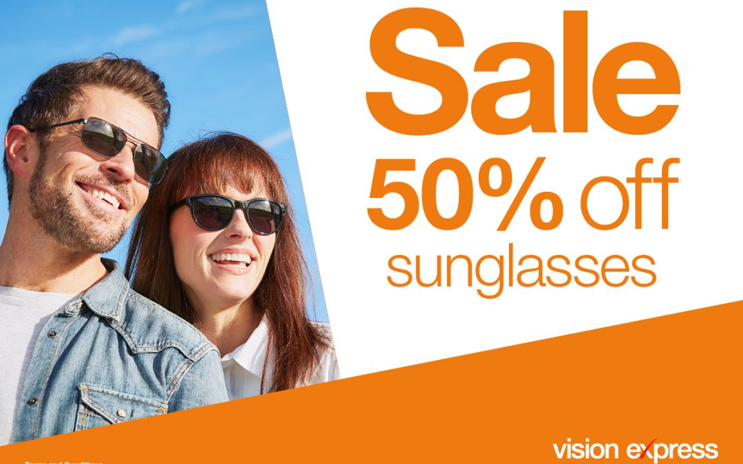 Sunglasses Sale at Vision Express