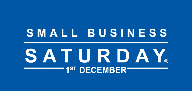 Small Business Saturday – 1 December