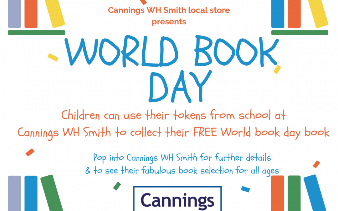 World Book Day at Cannings WH Smith Local
