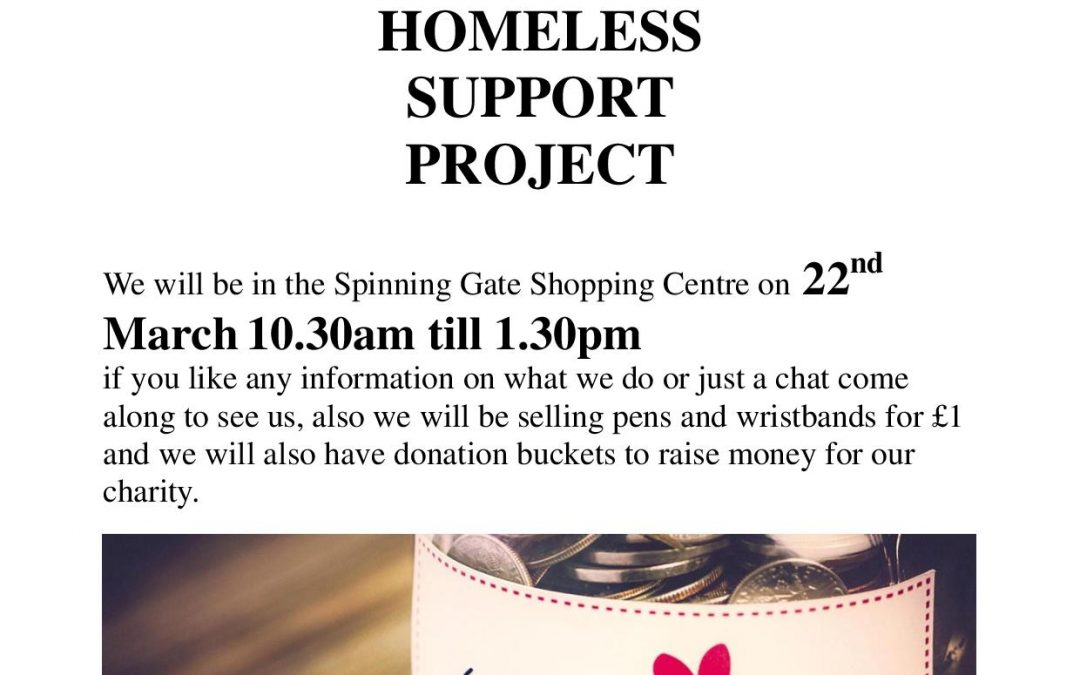 Homeless Support Project Leigh – Information Event
