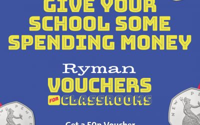Vouchers for Classrooms at Ryman Stationery