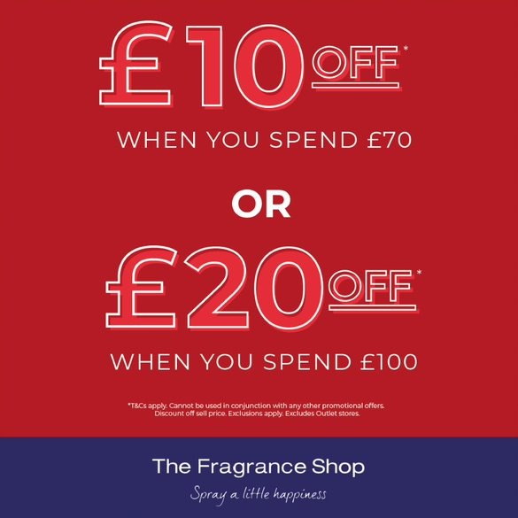 Savings at The Fragrance Shop