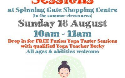 Free Yoga Taster Sessions
