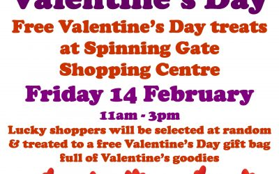 Valentine's Day at Spinning Gate Shopping Centre
