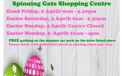 Easter Weekend – Centre Opening Hours