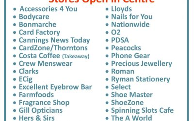 Non Essential Stores Re-Oopen