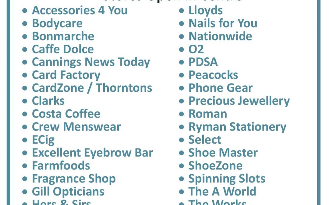 ALL Stores now open at Spinning Gate Shopping Centre